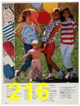 1987 Sears Spring Summer Catalog, Page 216