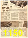 1956 Sears Fall Winter Catalog, Page 1150