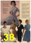 1961 Sears Spring Summer Catalog, Page 38