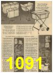 1961 Sears Spring Summer Catalog, Page 1091