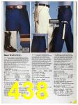 1986 Sears Spring Summer Catalog, Page 438