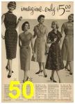 1959 Sears Spring Summer Catalog, Page 50