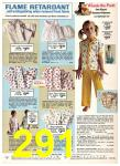 1974 Sears Spring Summer Catalog, Page 291