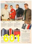 1958 Sears Fall Winter Catalog, Page 601