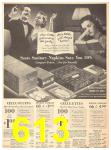 1940 Sears Fall Winter Catalog, Page 613