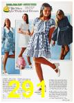 1972 Sears Spring Summer Catalog, Page 291