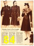 1940 Sears Fall Winter Catalog, Page 84