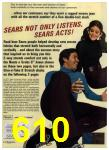 1972 Sears Fall Winter Catalog, Page 610