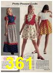 1975 Sears Spring Summer Catalog, Page 361