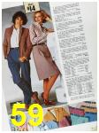 1985 Sears Fall Winter Catalog, Page 59