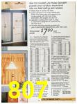 1988 Sears Fall Winter Catalog, Page 807