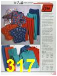 1986 Sears Fall Winter Catalog, Page 317