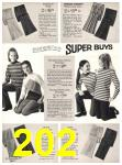 1971 Sears Fall Winter Catalog, Page 202