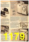 1962 Sears Fall Winter Catalog, Page 1179