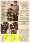 1962 Sears Fall Winter Catalog, Page 509