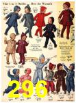 1940 Sears Fall Winter Catalog, Page 296