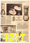 1960 Sears Fall Winter Catalog, Page 1217