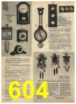 1968 Sears Fall Winter Catalog, Page 604