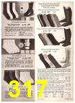 1969 Sears Fall Winter Catalog, Page 317