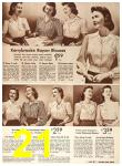 1942 Sears Spring Summer Catalog, Page 21