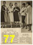 1959 Sears Spring Summer Catalog, Page 77