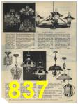 1965 Sears Fall Winter Catalog, Page 837