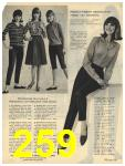 1965 Sears Fall Winter Catalog, Page 259