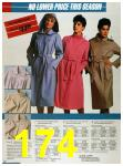 1986 Sears Spring Summer Catalog, Page 174