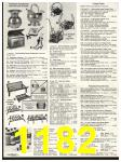 1982 Sears Fall Winter Catalog, Page 1182