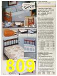 1987 Sears Fall Winter Catalog, Page 809