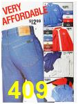 1987 Sears Spring Summer Catalog, Page 409