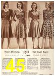 1942 Sears Spring Summer Catalog, Page 45