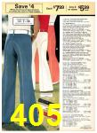 1977 Sears Spring Summer Catalog, Page 405