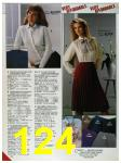 1986 Sears Fall Winter Catalog, Page 124