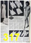 1964 Sears Fall Winter Catalog, Page 317