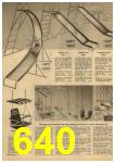 1961 Sears Spring Summer Catalog, Page 640