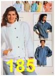 1988 Sears Spring Summer Catalog, Page 185