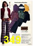 1975 Sears Fall Winter Catalog, Page 349