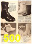 1960 Sears Fall Winter Catalog, Page 500