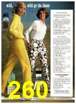 1969 Sears Spring Summer Catalog, Page 260