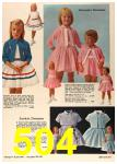 1964 Sears Spring Summer Catalog, Page 504