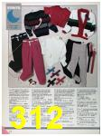 1986 Sears Fall Winter Catalog, Page 312