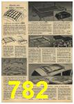 1961 Sears Spring Summer Catalog, Page 782
