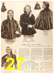 1956 Sears Fall Winter Catalog, Page 27