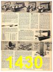 1956 Sears Fall Winter Catalog, Page 1430