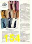 1971 Sears Fall Winter Catalog, Page 154