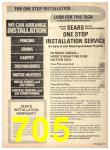 1977 Sears Fall Winter Catalog, Page 705