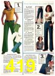 1977 Sears Spring Summer Catalog, Page 419