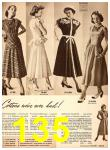 1949 Sears Spring Summer Catalog, Page 135