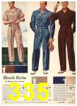 1942 Sears Spring Summer Catalog, Page 335